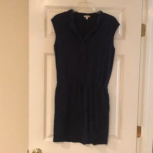 Gap cotton sleeveless dress size xs navy